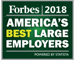 Forbes 2018 America's Best Large Employers