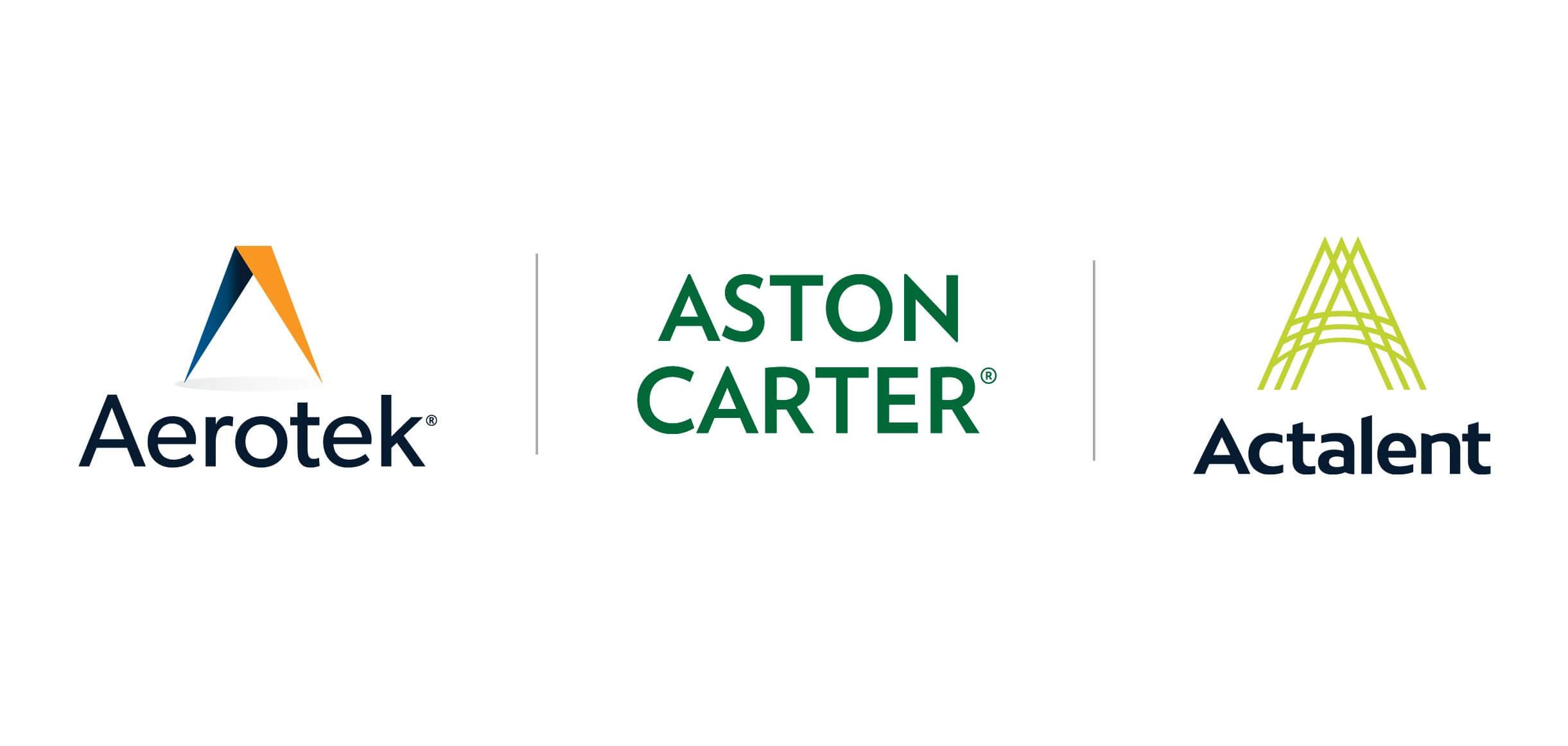 Aerotek, Aston Carter et la nouvelle marque Actalent s'alignent stratégiquement afin de fournir des solutions de talents personnalisées.